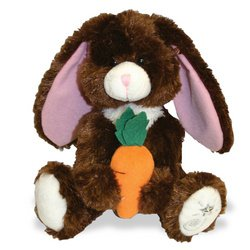 Shining Stars: Dark Brown Easter Bunny