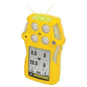 BW tecnologías qt-0whm-a-y-na GasAlertQuattro 3-gas detector con pilas alcalinas, combustible, H2S y CO, Amarillo: Amazon.es: Amazon.es