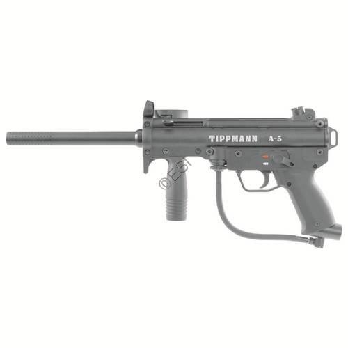 (Tippmann A-5 with Response Trigger .68 Caliber Paintball)