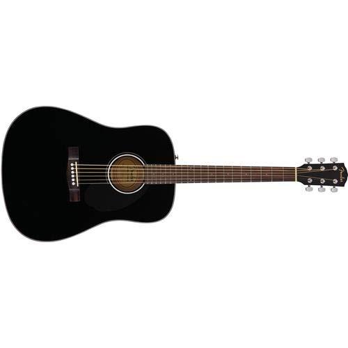 Fender Classic Design CD-60S Dreadnought Acoustic Guitar (Black) (Best Budget Acoustic Guitar 2019)
