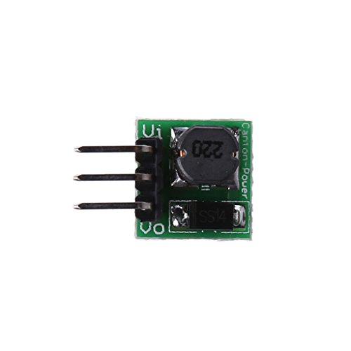 Sixsons Mini DC to DC Boost Converter 0.9V to DC 5V Step-up Voltage Module for Arduino (Difference Between Step Up And Down Transformer)