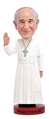 Pope Francis Bobblehead Colorful Collectors