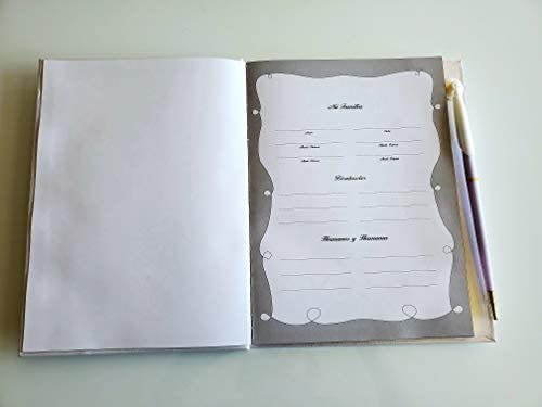 Party Supplies Recuerdo De Mis Quince Años. Libro De Firmas,Invitados & Notas.