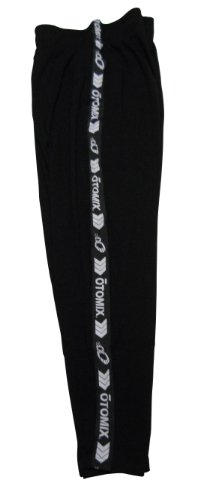 Otomix Work Out Pants-Black Signature Stripe- L