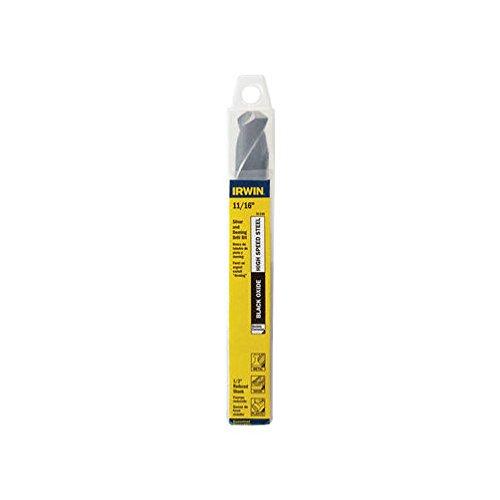 Irwin 91144 11//16 X 6 Fractional 1//2 Reduced Shank Drill Bit