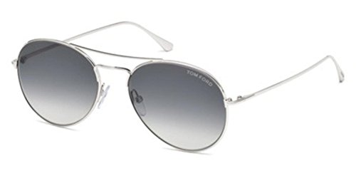Sunglasses Tom Ford ACE- 02 TF 551 FT 18B shiny rhodium / gradient - Tom Ace Ford