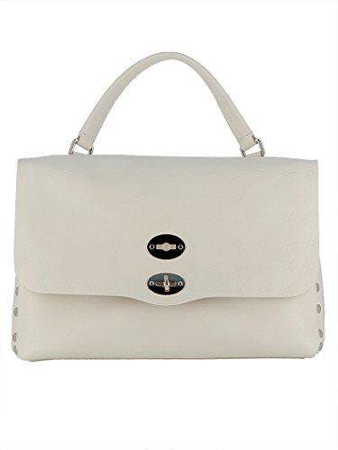 Zanellato à Femme Unique Main Sac Taille pour Blanc Blanc qRFrqS