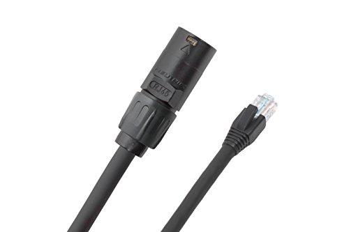 (Elite Core EC-PROCAT5E-RE-20 Pro CAT5E Cable RJ45-Ethercon 20-Feet)