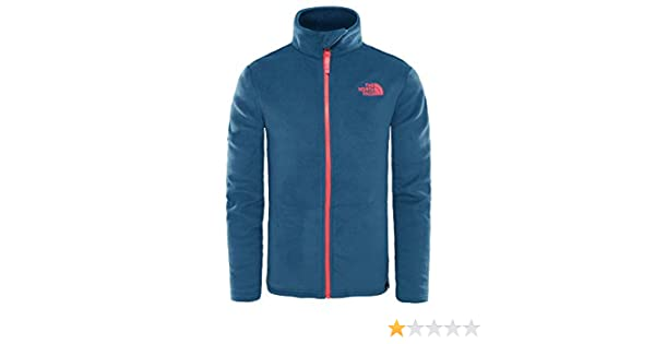 THE NORTH FACE Y Snow Quest FZ R Blue Wing Teal XS (Kids): Amazon.es: Deportes y aire libre
