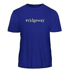Tracy Gifts #Ridgeway - Hashtag Nice Men's Short Sleeve T-Shirt, Blue, Medium