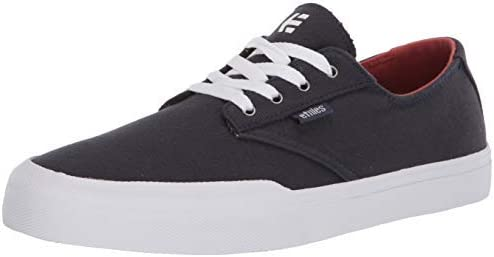 Etnies Men's Jameson Vulc LS Skate Shoe|,| Navy/White|,| 14 Medium US