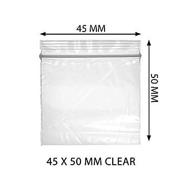 Bolsas de plástico Ziplock pequeños de 45 x 50, elija la ...