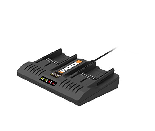 WORX WA3875 20V Li-ion Dual Port 2 Hour Charger ()