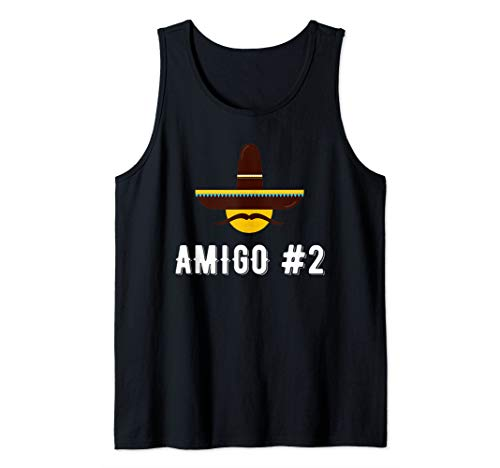 Costume Ideas For Two Friends (Amigo #2 Funny Group Costume Idea For Friends Tank)