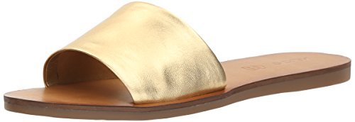ALDO Women's Brittny Slide Sandal, Gold, 6.5 B US