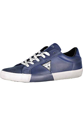 Guess Bleu Sneaker Guess Fm5nryele12 Sneaker Blue Blue r7F6qr