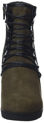 Fly London Damen Poet132fly Stiefel Braun (sludge / Zwart)