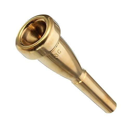 Florencinid Boquilla Trompeta Tamaño 3C para Yamaha para Bach Boquilla Trompeta De Metal para Registro Alto Y Accesorios De...