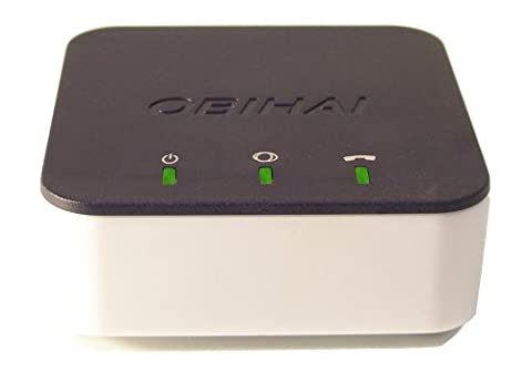 OBi200 1-Port VoIP Phone Adapter with Google Voice and Fax Support for Home and SOHO Phone Service - Skype Usb Telephone Gateway