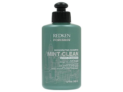 Redken Men Mint Clean Shampoo, 10-ounce (Shampoo Redken Clean Mint)