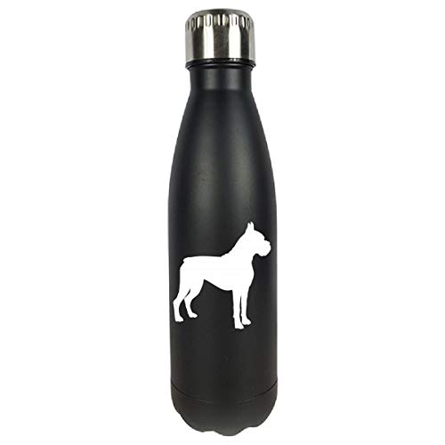 Boxer Dog Lover Gifts For Woman Men Or Kids - Water Bottle D