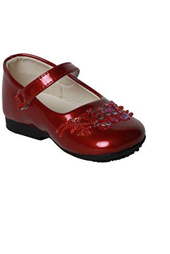 zapato rojo bebé polaco Rojo
