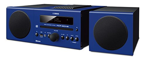 Yamaha Micro Component System Blue MCR-B043BU