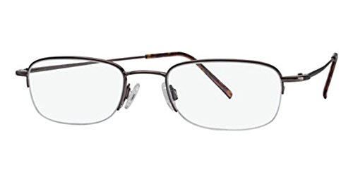 Flexon Flx 807Mag-Set Eyeglasses 218 Coffee 218 Demo 51 20 145 ()