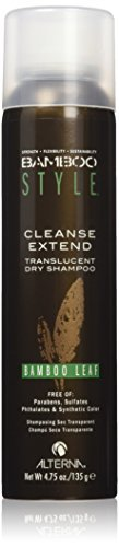Bamboo Style Cleanse Extend Translucent Dry Shampoo Alterna Shampoo Unisex 4.75 oz (Pack of 5) by Alterna
