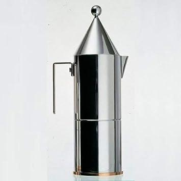 Alessi La conica 90002/6 Cafetera para Café Exprés de Diseño ...
