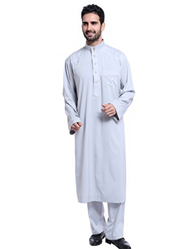 GladThink Men's Thobe with