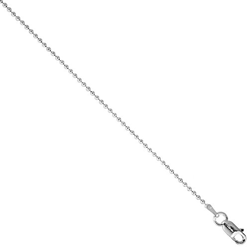 Bead Ball Chain Necklace - 8