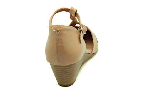 Sandalia de mujer - Maria Jaen modelo 206N Beige