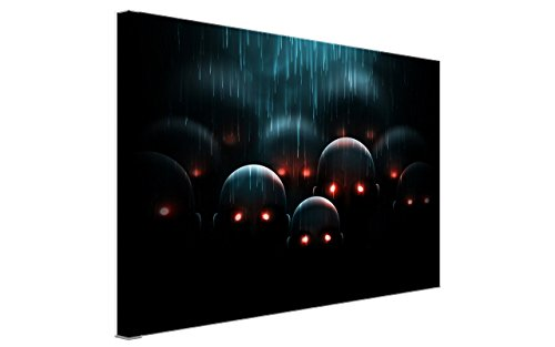 NAN Wind Zombie with Red Eyes in the Rain Painting Halloween Wall Art Scary Painting Pictures Festival Art Print Print On Canvas Art The Picture For Home Modern (Scary Halloween Face Painting Ideas)
