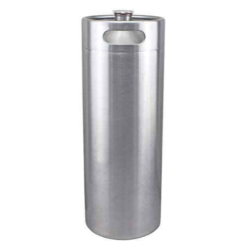 10L (2.64 Gallon) Stainless Steel Mini Keg for Beer Homebrew Kegerator Growler Ball Lock Cornelius Corny ()