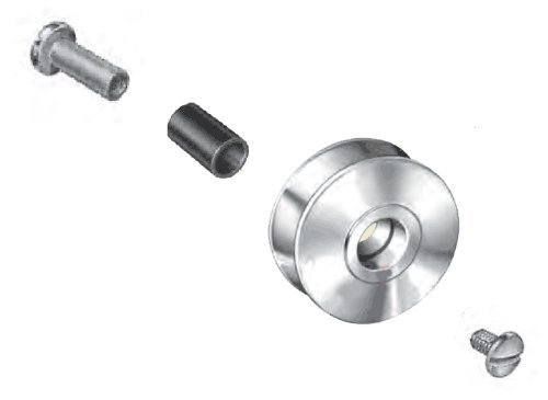 AFTCO GRA2SS Roller Guide Spare Parts, Roller Assembly - Stainless - Roller Aftco