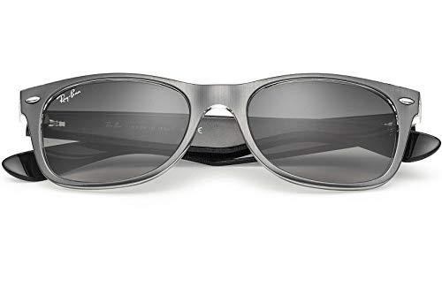 9eeaabbd6e Ray Ban RB2132 614371 55 Gunmetal Clear New Wayfarer Sunglasses Bundle-2  Items