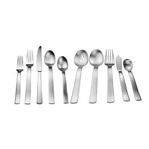 David shaw 45 piece splendide davos flatware set silver flatware - Splendide flatware ...