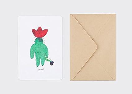 sosomoongoo Cactus tarjeta, color Its Okay: Amazon.es ...