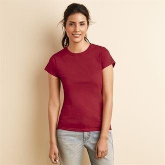 Gildan softstyletm camiseta de hilado y para mujer diseño de heliconia