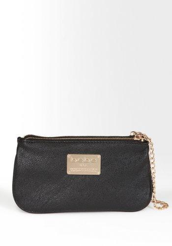 bebe Lottie Chain Clutch Handbags (Bebe Clutch)