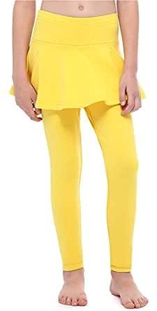Merry Style Leggings Mallas Cálidos Largas con Falda Niña MS10-254 ...