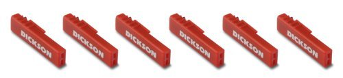 Chart Recorder Pens,Red,Pk6 DICKSON P222