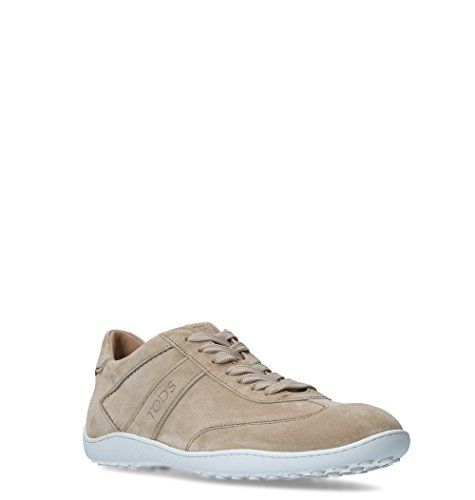 free shipping best Tod's Men's XXM08A0S480BYEC606 Beige Leather Sneakers real online clearance popular factory outlet for sale low cost for sale ITn0EHh0