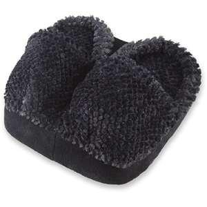 (Spa Foot Massager Black Micro Fabric Cushion Massage)