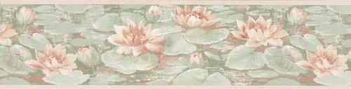 Lily Pad Wallpaper Border - 8