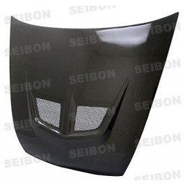 SEIBON 03-07 Accord 2D Carbon Fiber Hood EVO CM 04/05