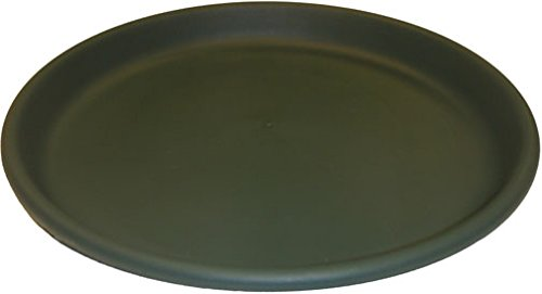 Erva D17GR 17 in. dia. Bird Bath Plastic Dish; Green