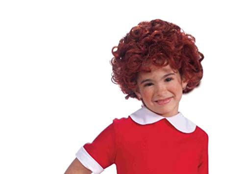 Child Little Annie Orphan Costume Wig