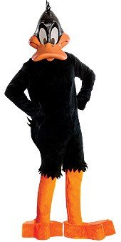 Rubie's Looney Tunes Supreme Edition Daffy Duck, Black,